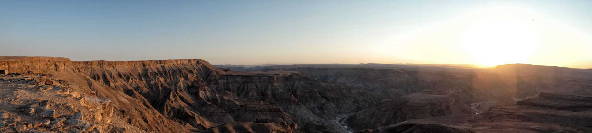Fish River Canyon Panorama Africa Bucket List