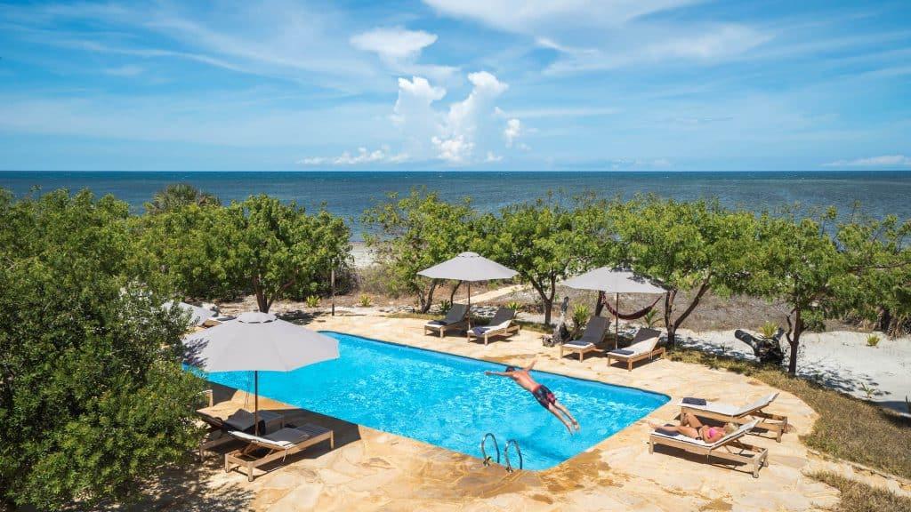 Mawimbi Villa Pool