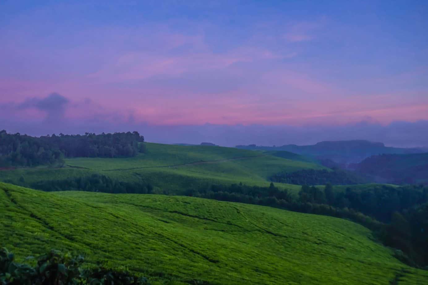 We are in Rwanda
