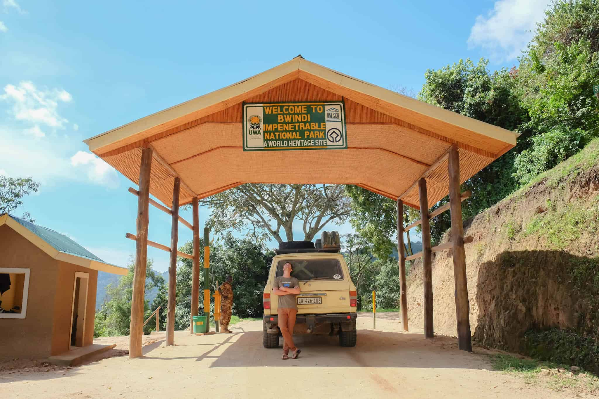 Arriving to Bwindi Impenetrable National Park