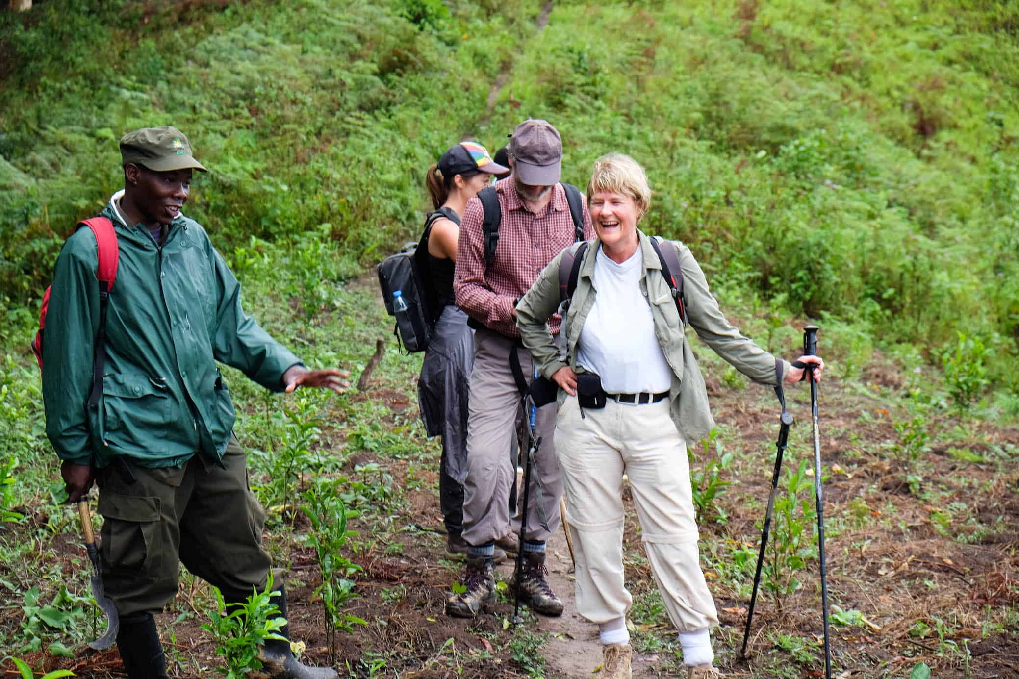 Gorilla Trekking Group With Guides