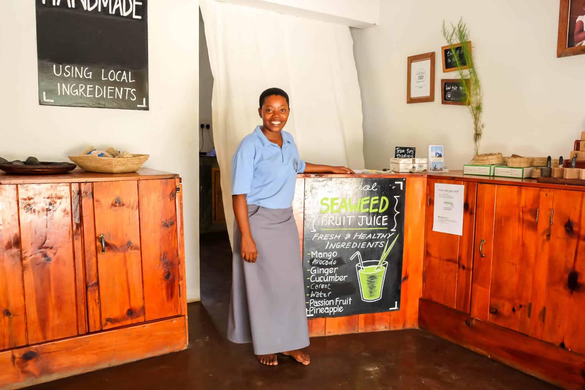 Seaweed Center Zanzibar