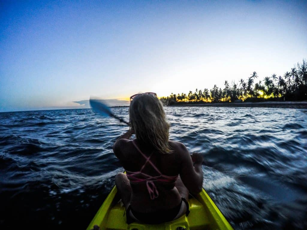 Kayaking in Tanzania