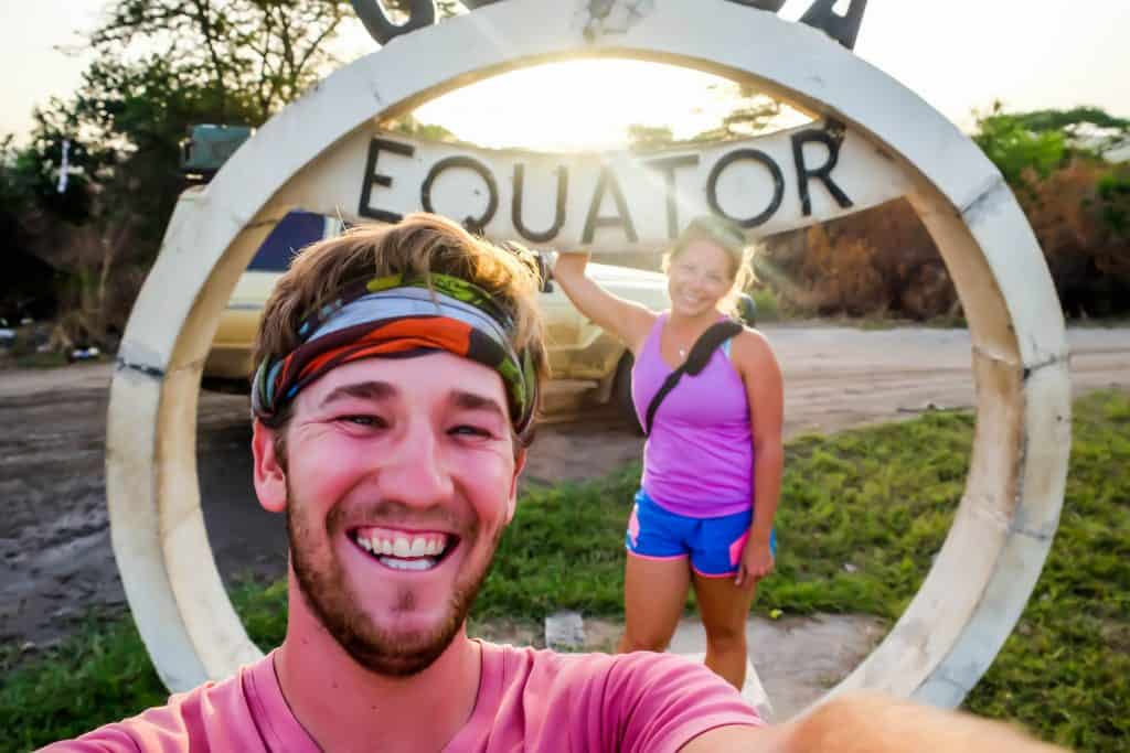 Crossing that Equator in Uganda