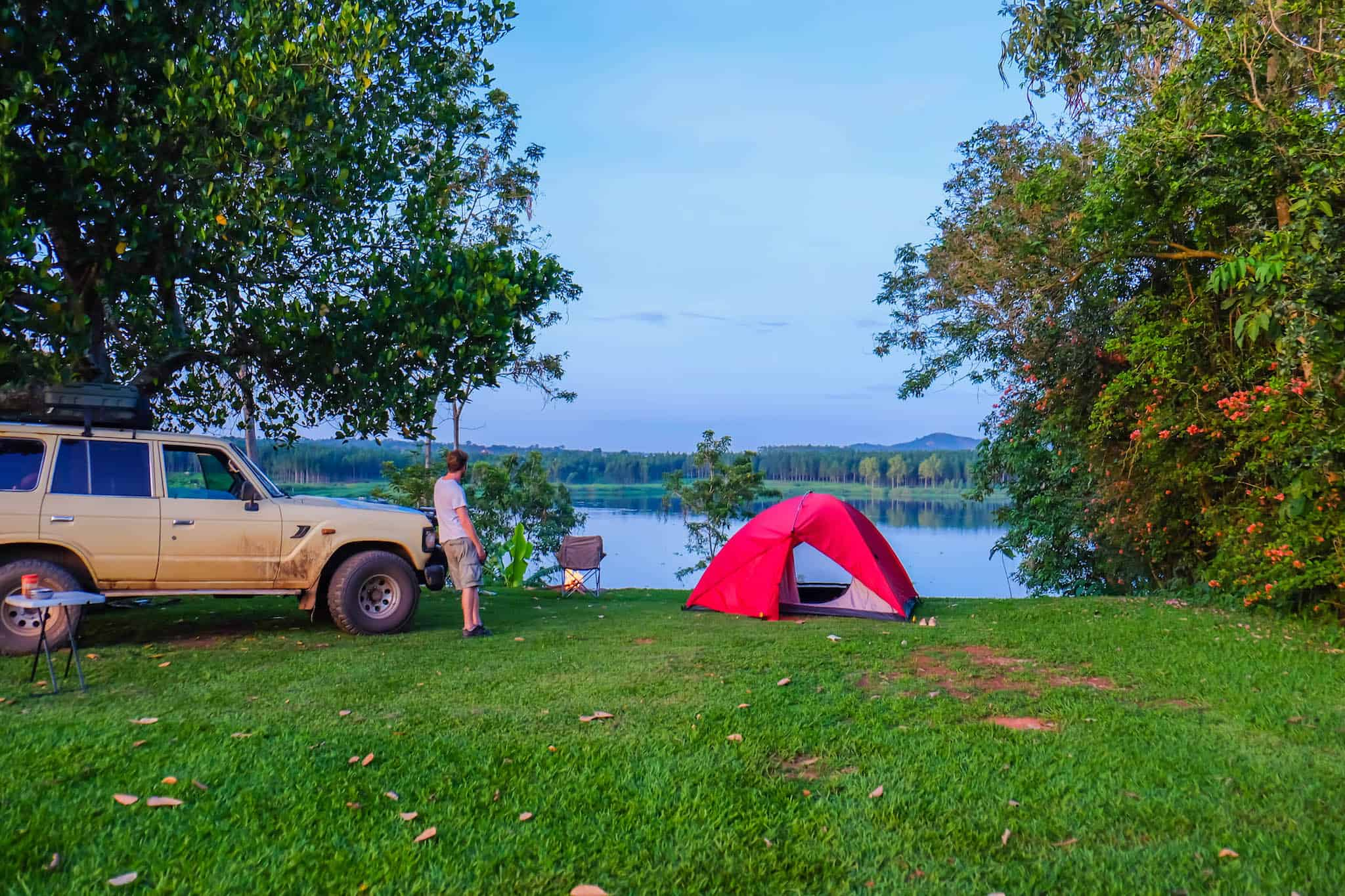 Camping at The Haven