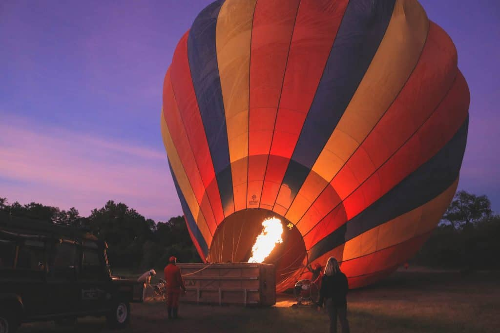 Balloon Safari Morning