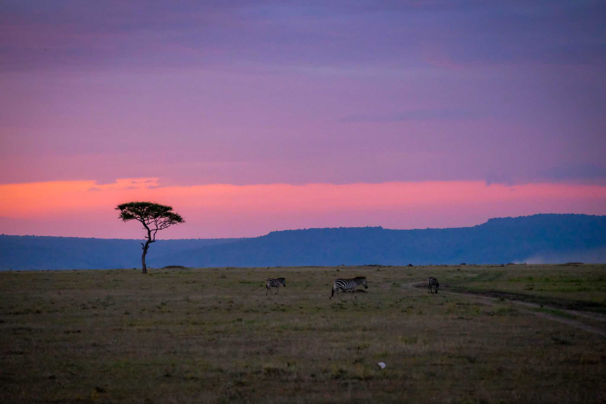 Sunsets in Kenya