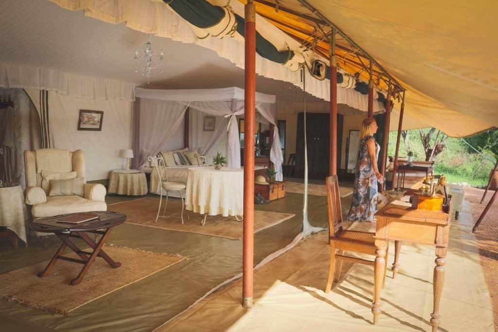 Masai Mara Cottars Tent