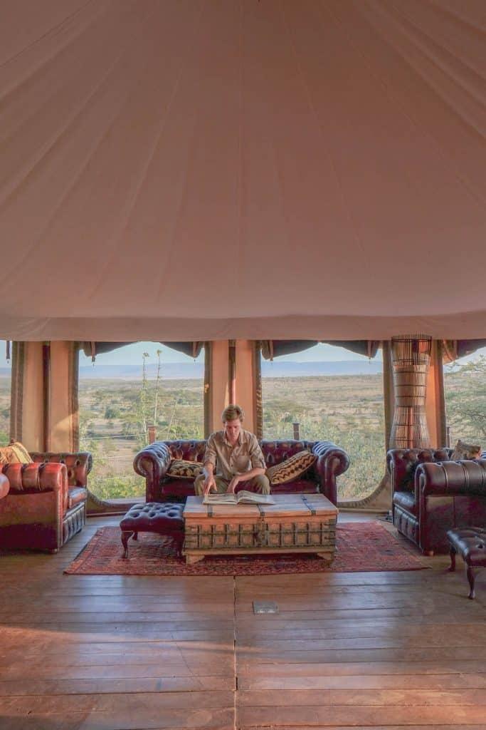 Ol Seki Lounge Masai MAra