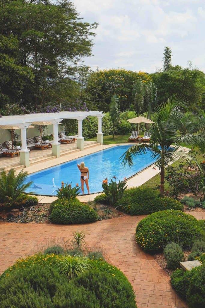 Pool at Hemingways