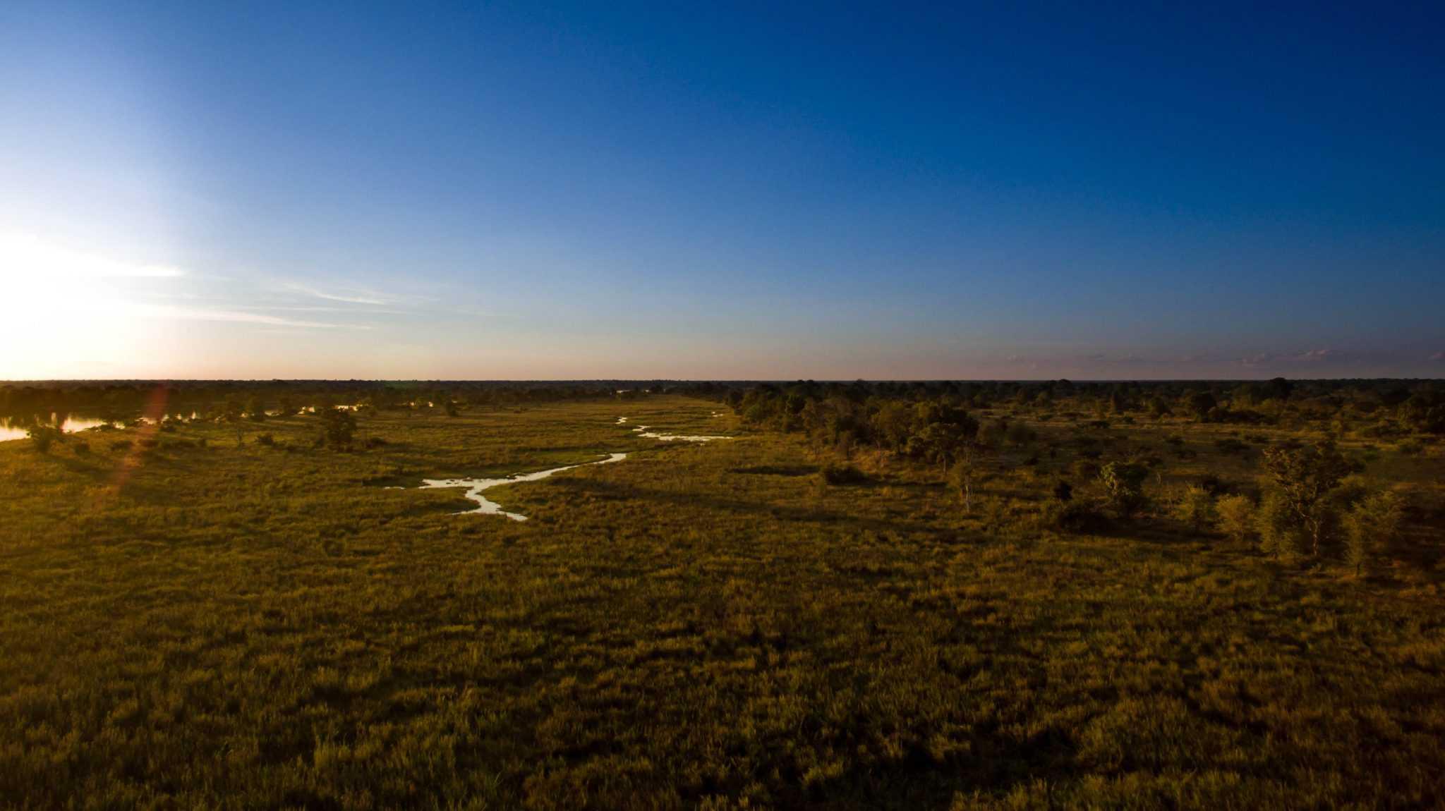 Kafue National Park Landscape