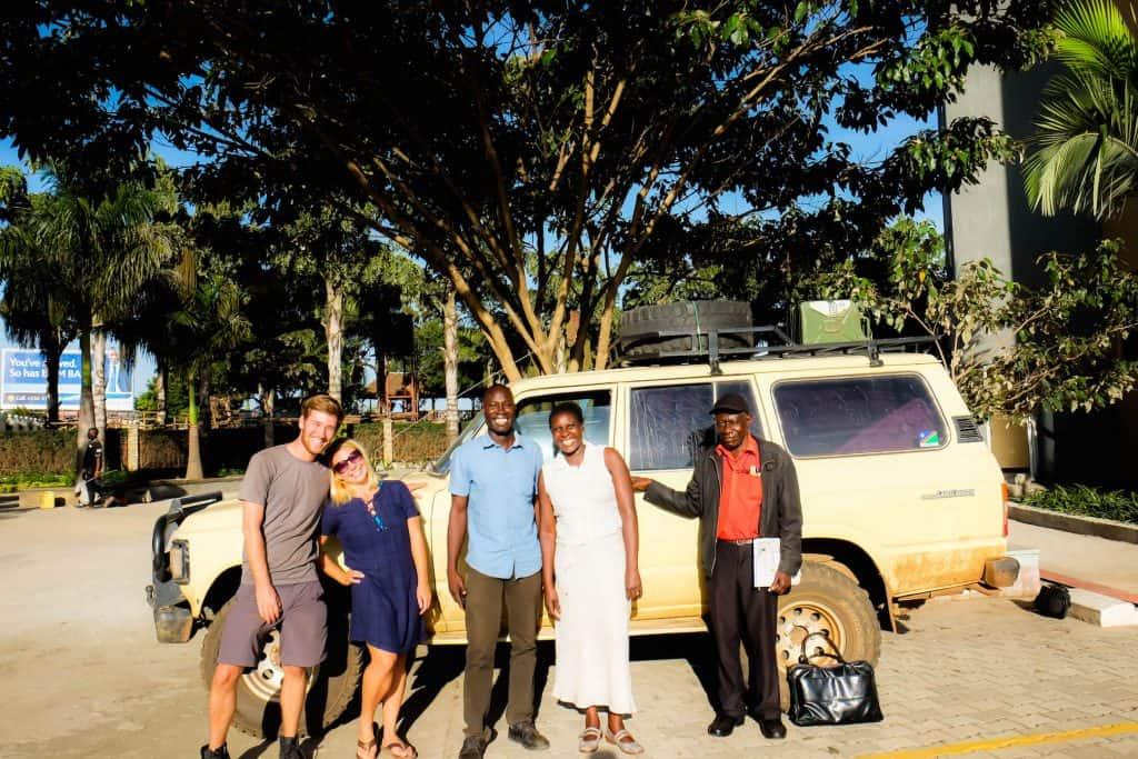 Selling our car in Uganda