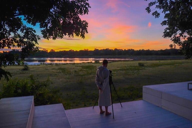 Sunrise at Chinzombo