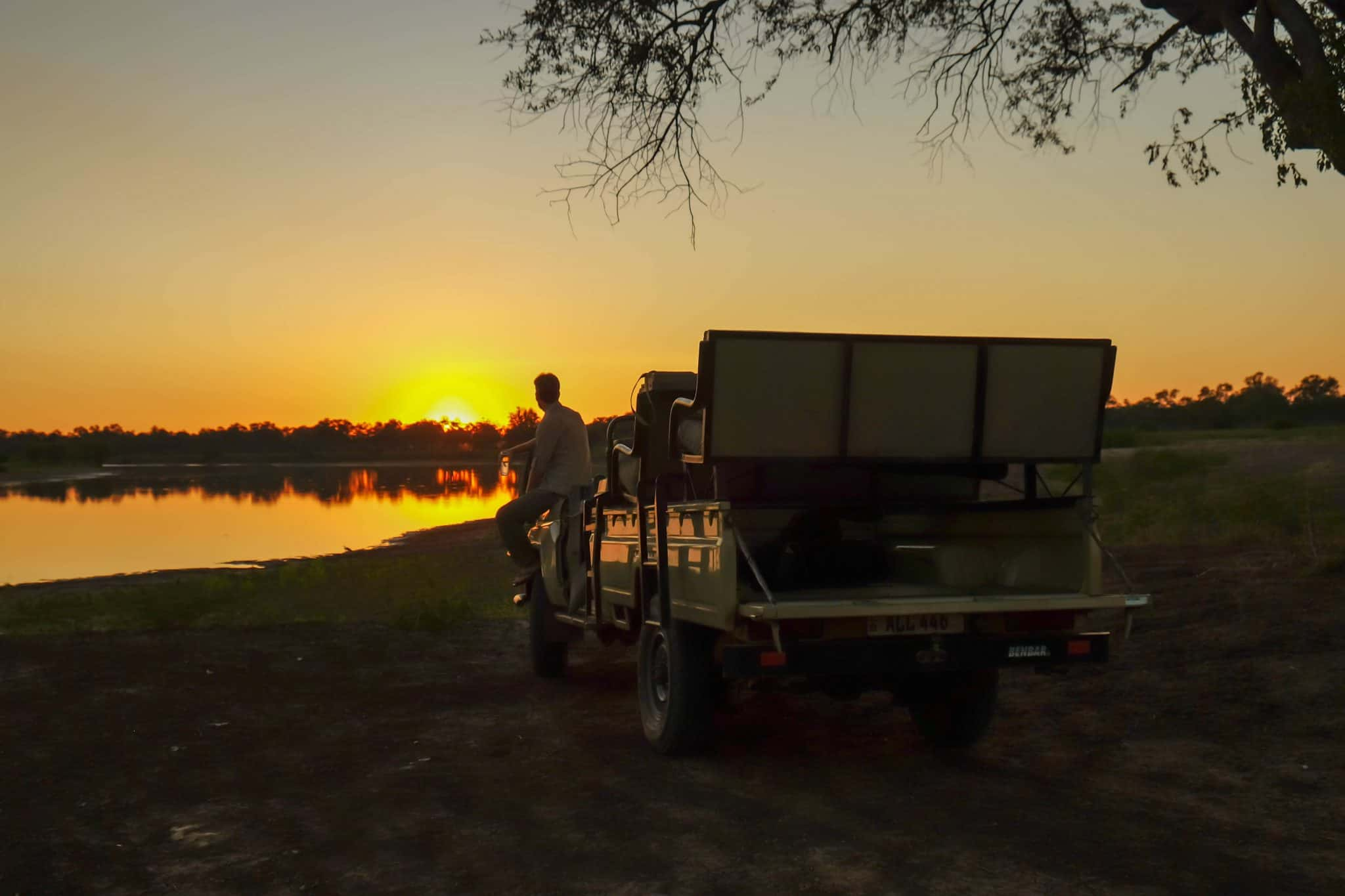 South Luangwa National Park Cameron Sundowner