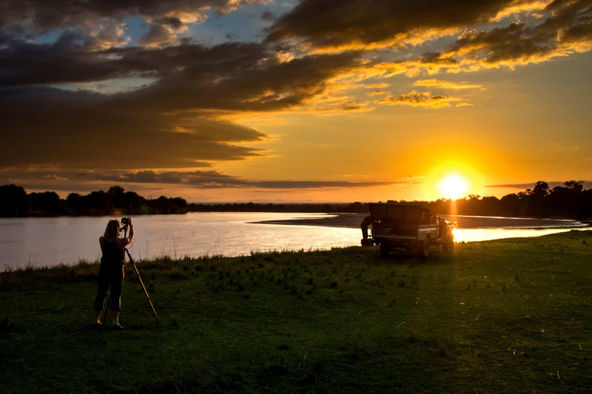 South Luangwa National Park Sundowner