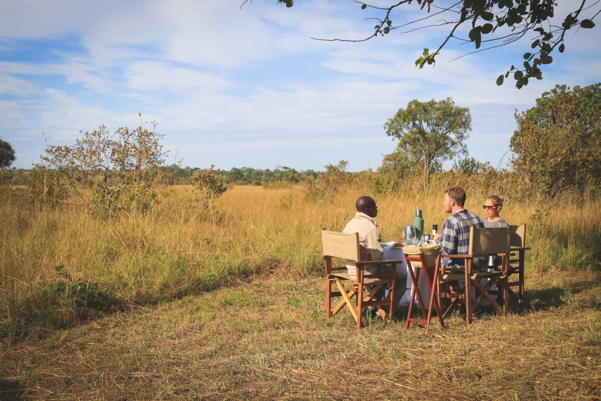 Bush Breakfast Kafue National Park