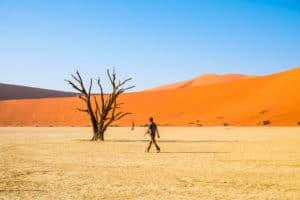 The heat in Africa