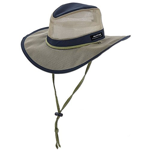 d14890e8fbab96 This hat may not be the classic safari hat, but it still looks great and  serves it's purpose. A leather hat may look good on safari, but once you  get to the ...