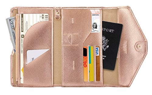 89cabefb174 For the ladies that want a high-quality tri-fold passport holder that still  looks great