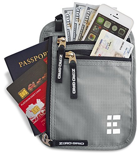 644021920 If you re looking for a passport holder that hangs around your neck  comfortable the zero grid is perfect. The Zero Grid is made out of ripstop  nylon and is ...