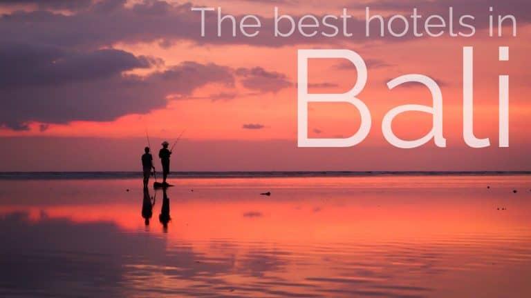 The Best Hotels in Bali
