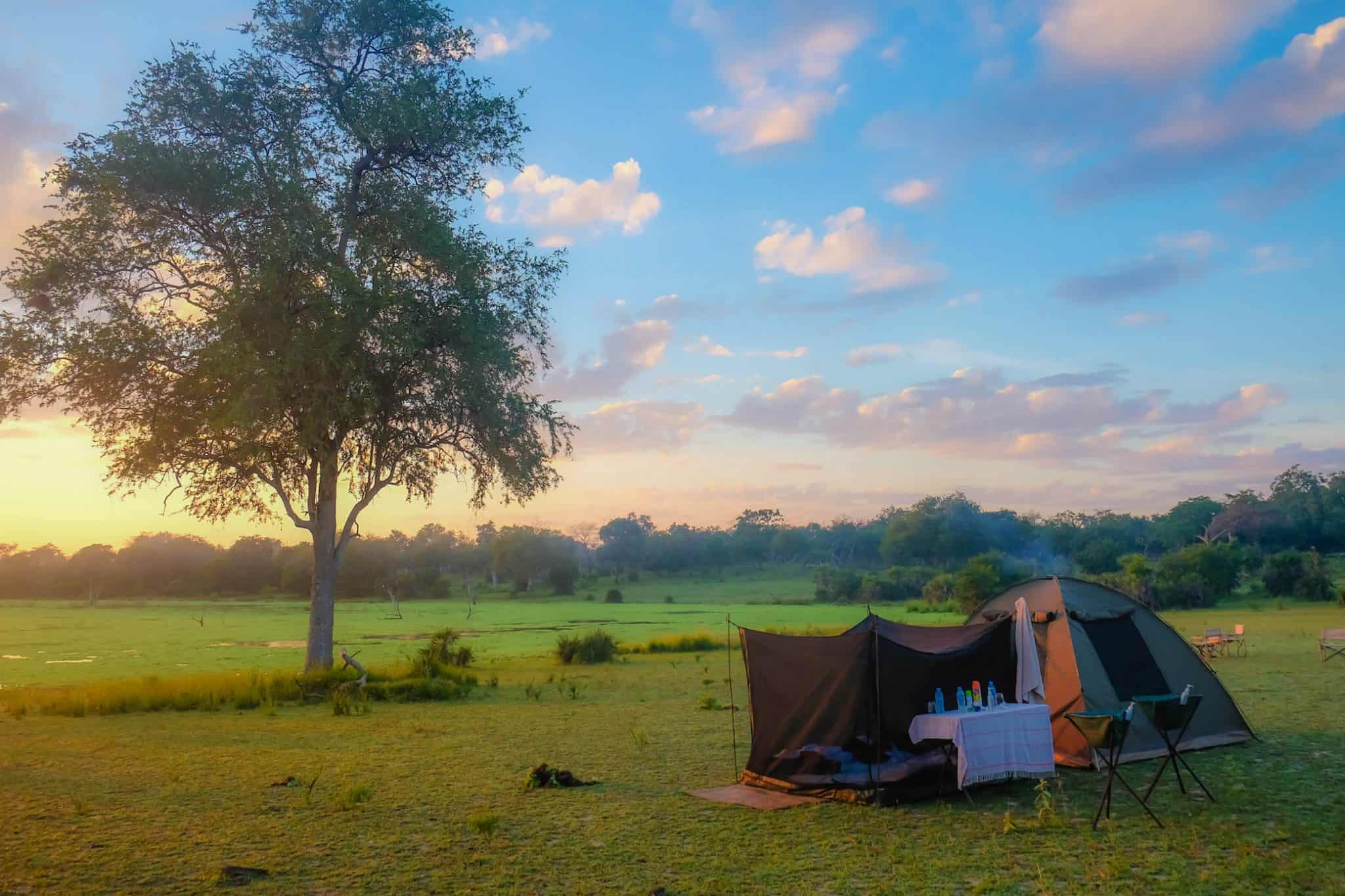 Fly Camping with Nomad Tanzania