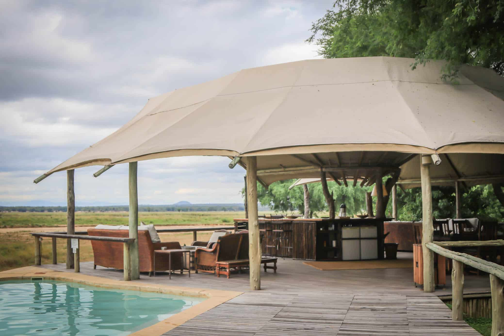 Anabezi Camp in the Lower Zambezi