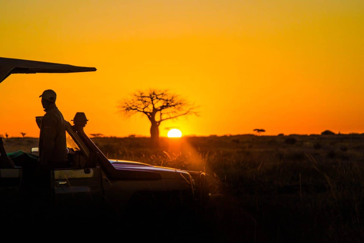 Sunrise in Ruaha National Park
