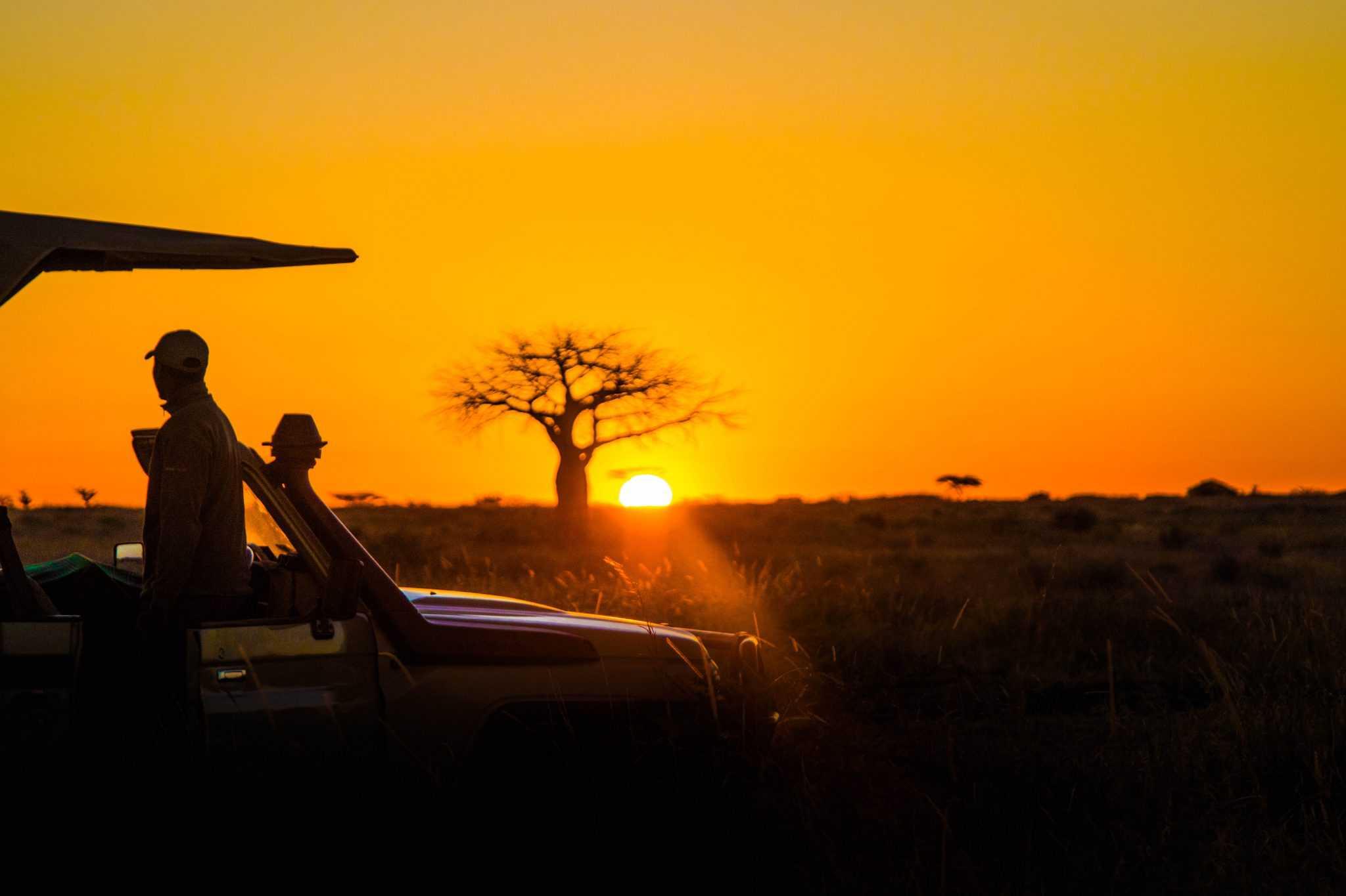 Sunrise in Ruaha National Park