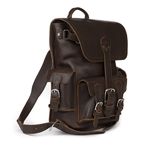 24dd406874 Saddleback Leather makes some of the best quality backpacks – hands down.  Their leather backpacks are the best safari backpacks on the market and we  don t ...