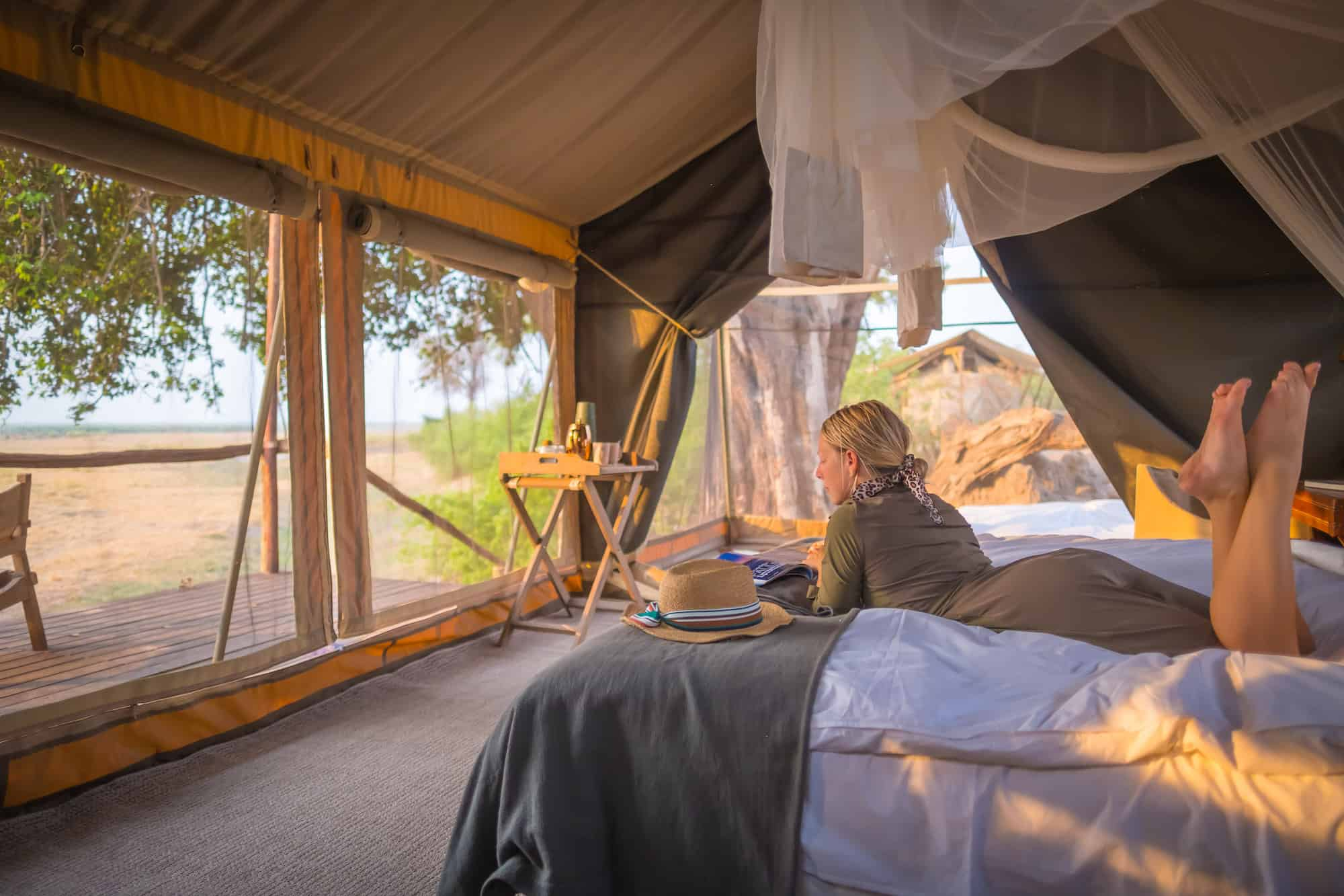 Linyanti Expeditions Tent Safari