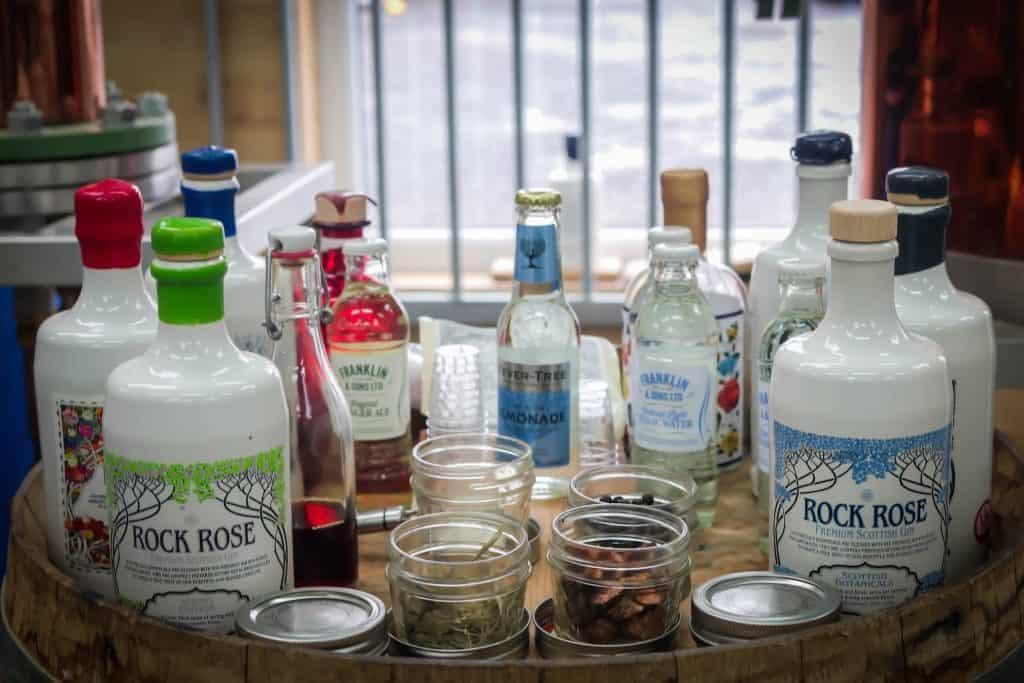 Rock Rose Gin Things To Do In Edinburgh