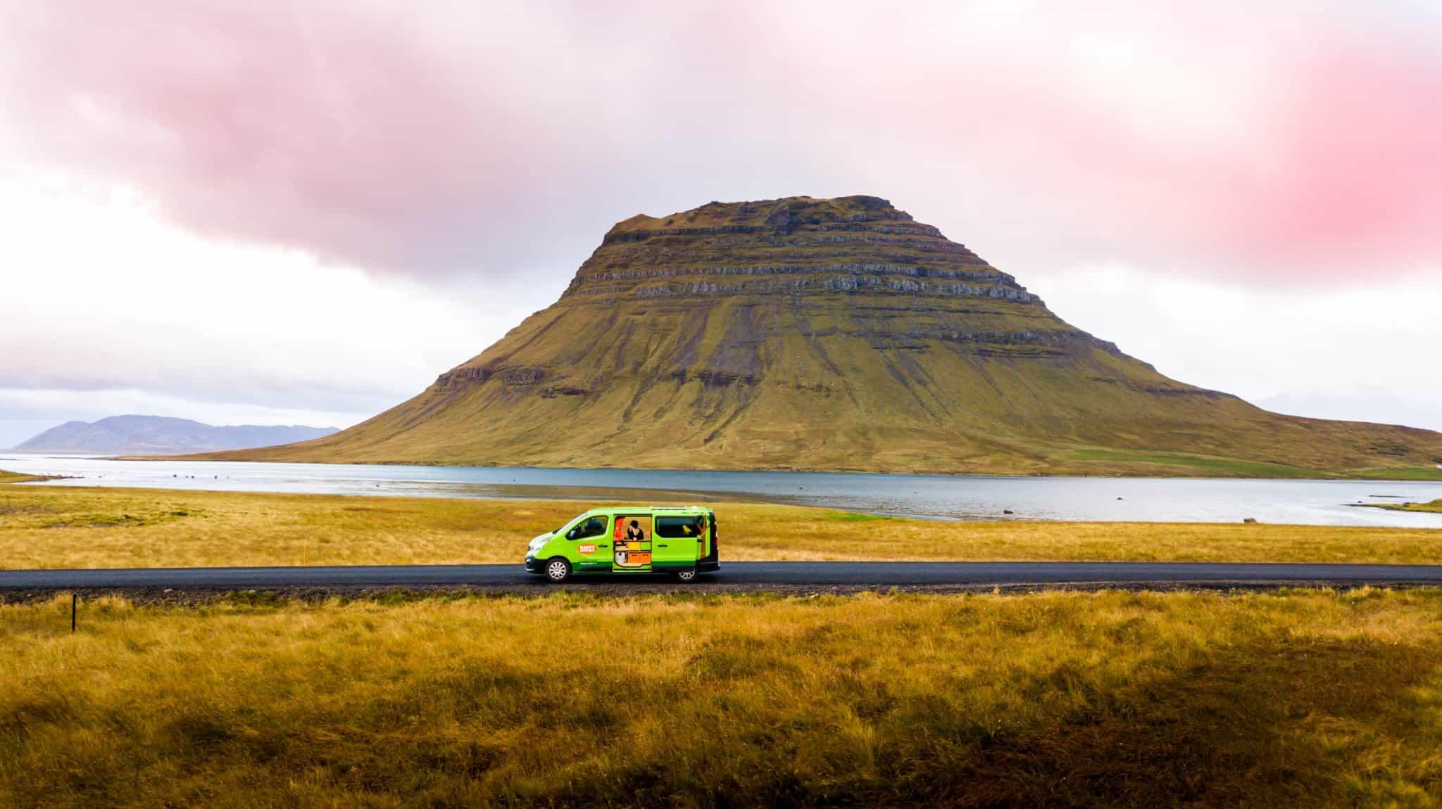 Iceland Camping Kirkjufell