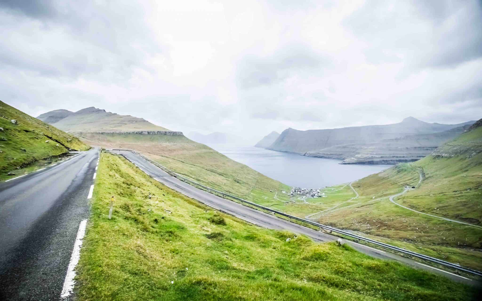 Roads in the Faroes
