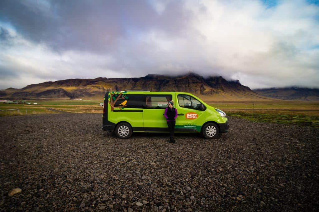 Camping in Iceland Ring Road Trip Happy Campers Van