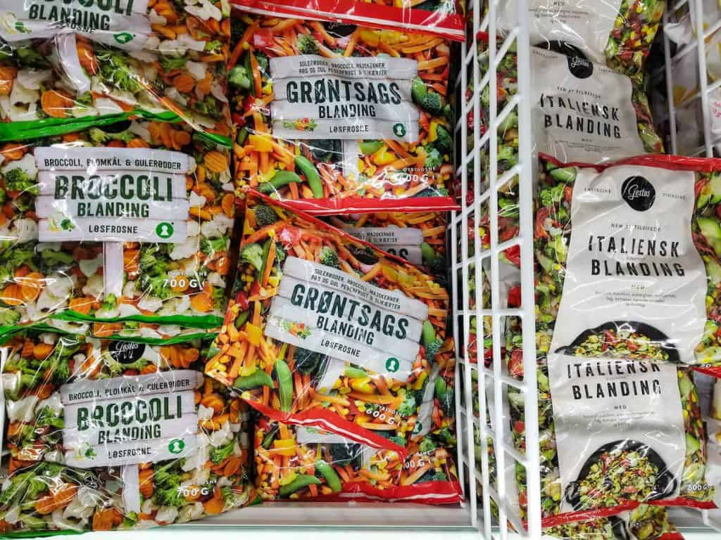 Iceland Groceries Frozen Vegetables