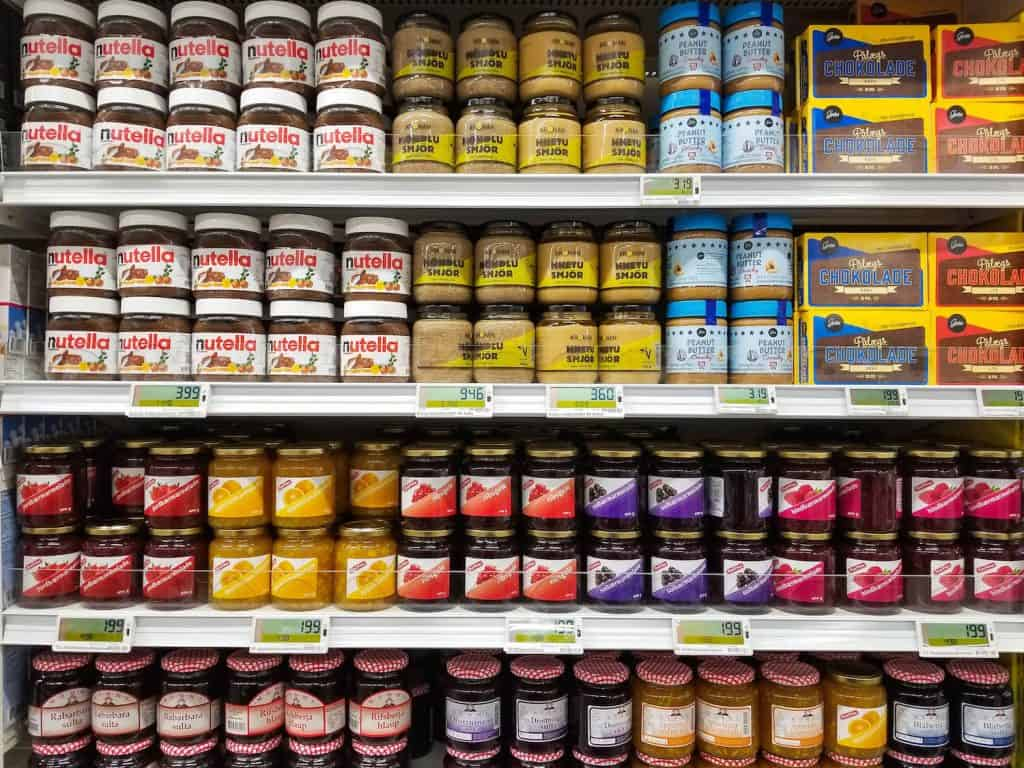 Iceland Grocery Store Peanut Butter