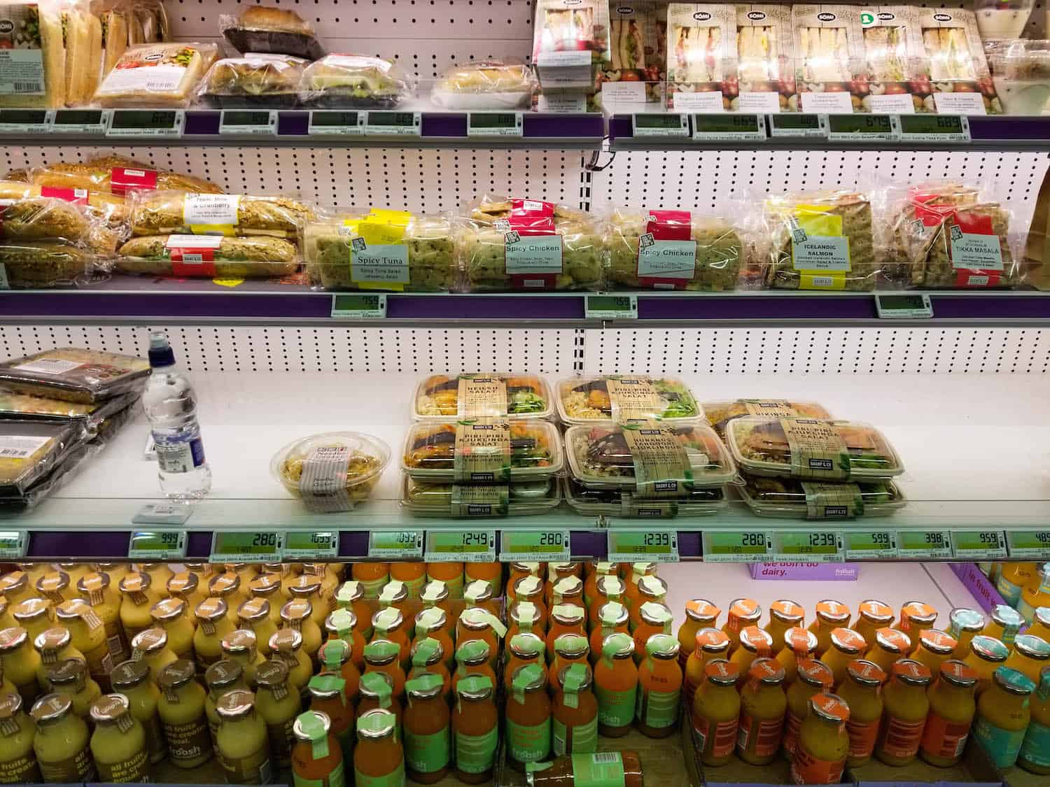 Iceland Supermarket Ready Made Food