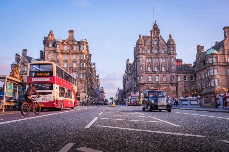 Cost To Backpack Europe: Edinburgh