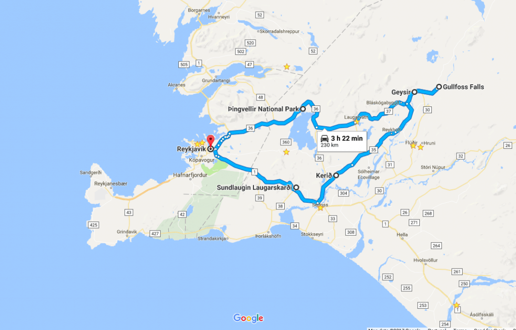 How To Drive The Golden Circle in Iceland Yourself Golden Circle Map on confederate arizona map, akureyri map, confederate states of america map, blue lagoon map, compromise of 1850 map,