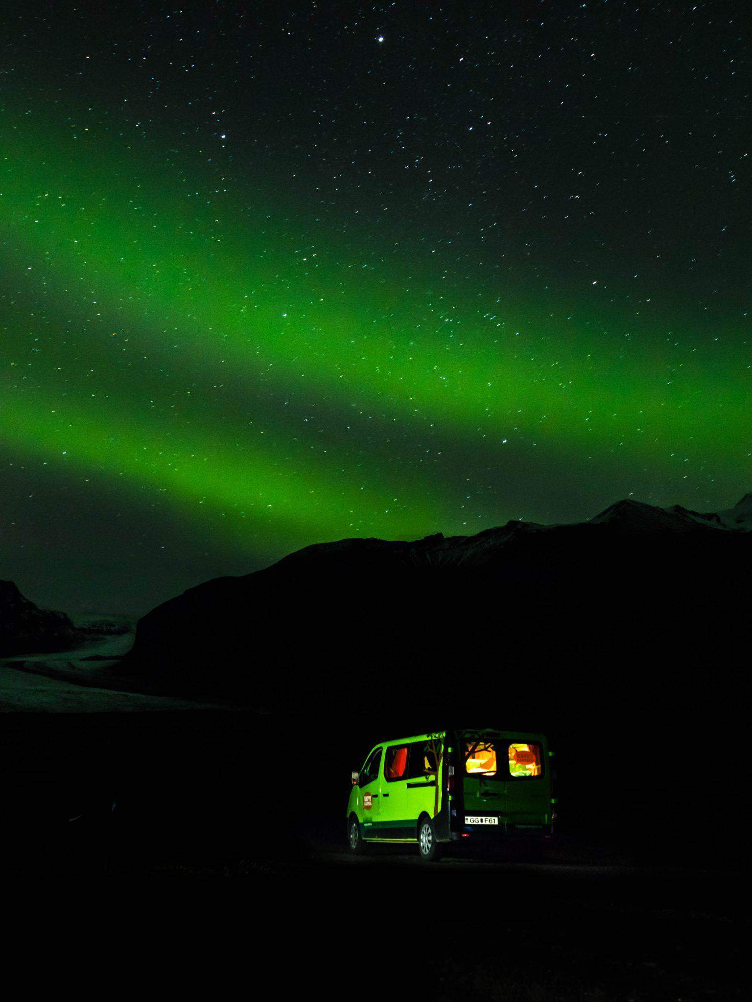 Happy Campers Review Best time to visit iceland