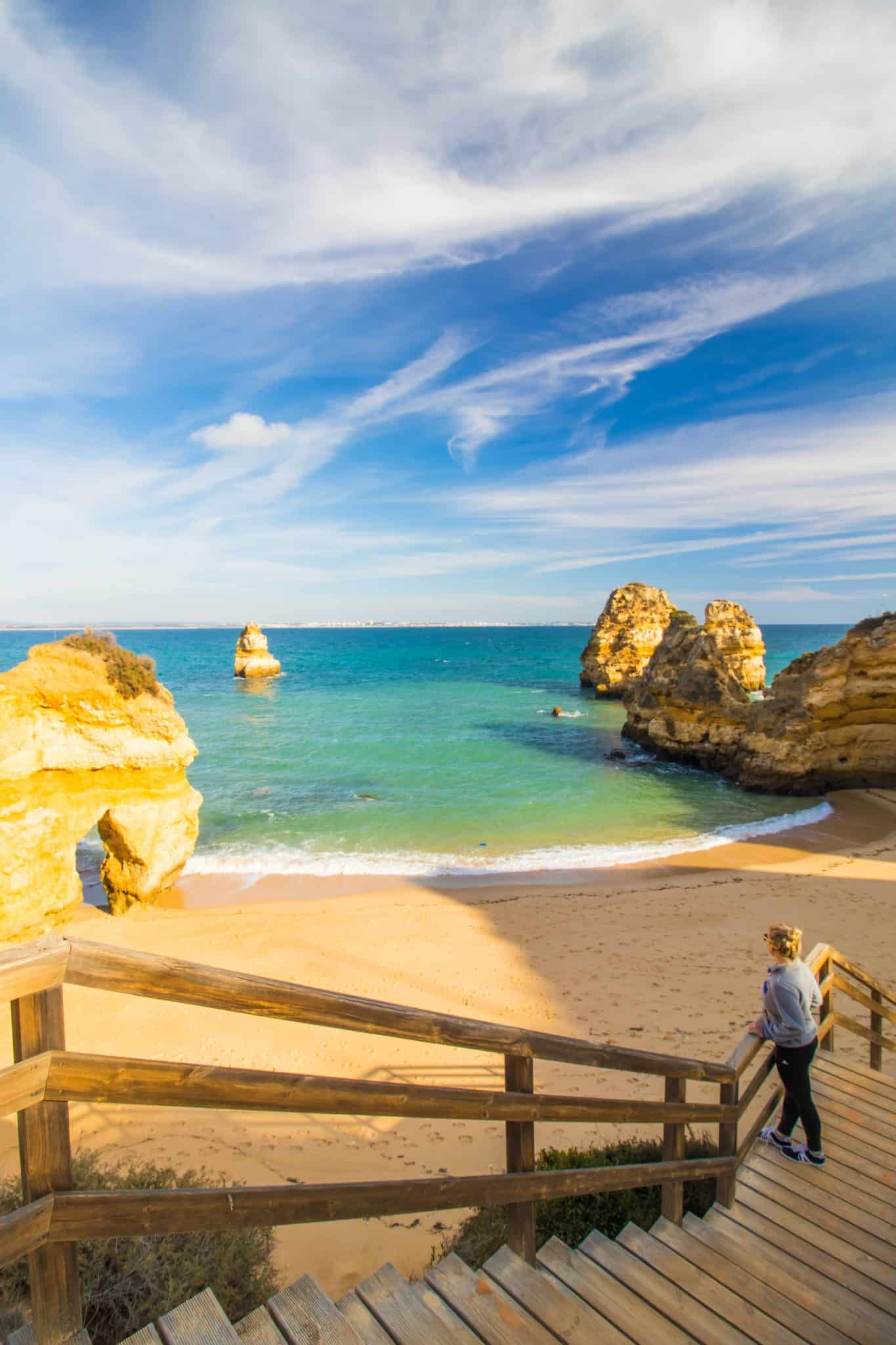 Praia do Camilo 2 - Best Beaches in the Algarve