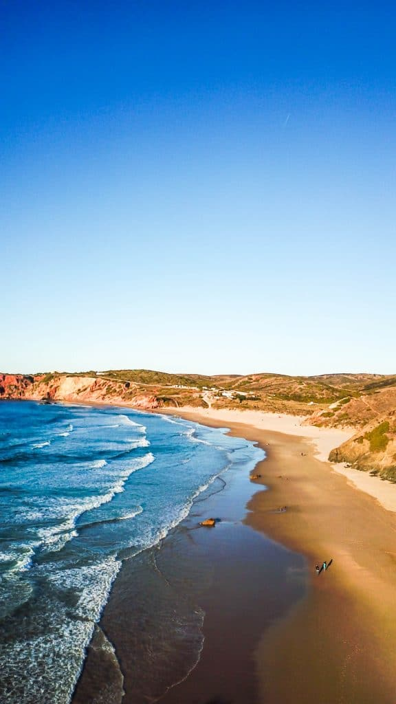 Praia do Amado 2 - Best Beaches in the Algarve