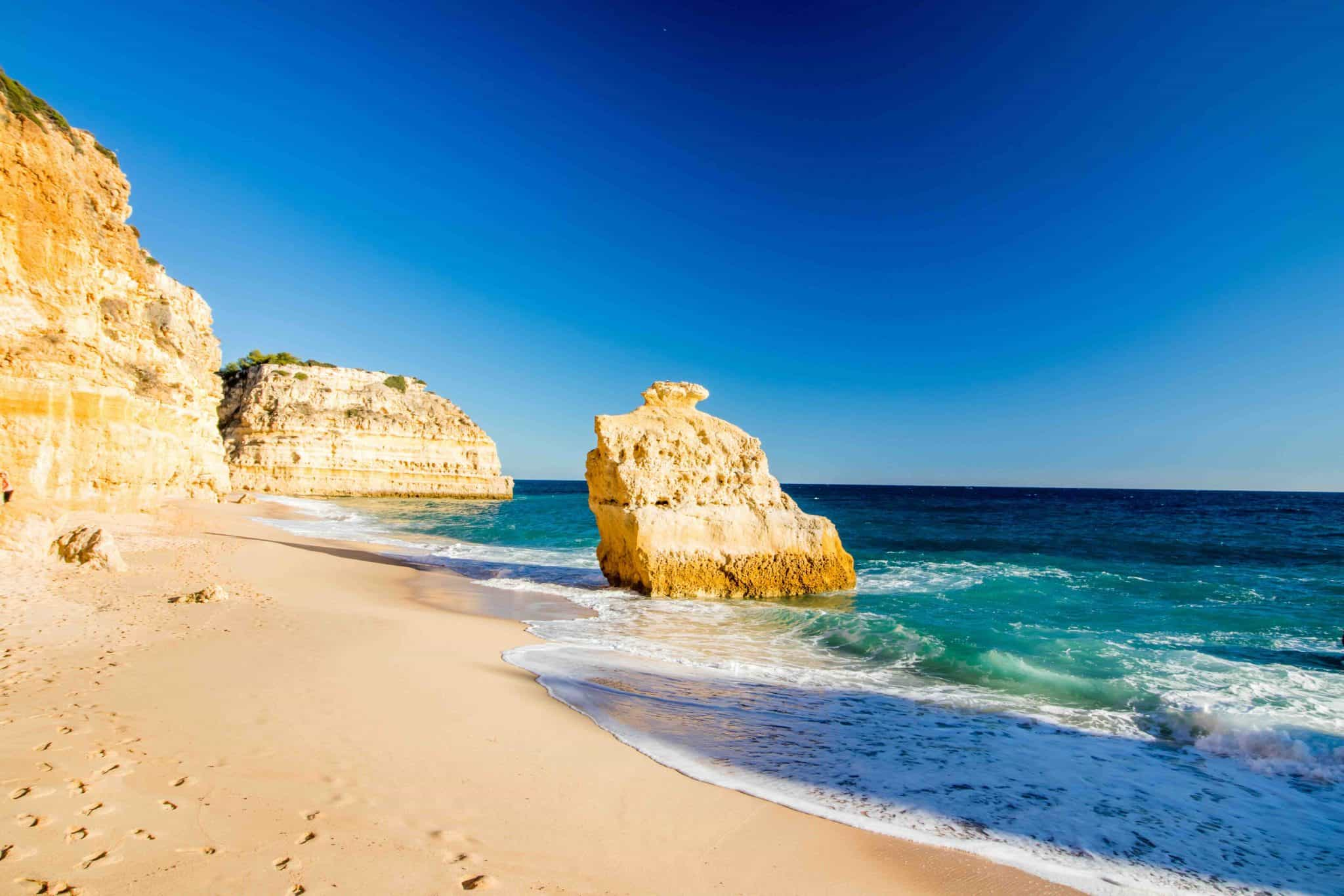 Praia da Marinha - Best Beaches in the Algarve