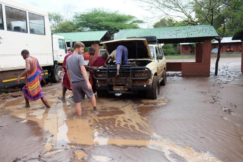 Flood in Tanzania
