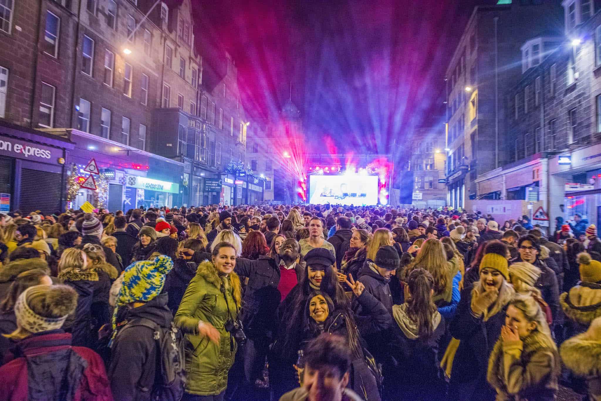 Edinburgh's Hogmanay - Street Party