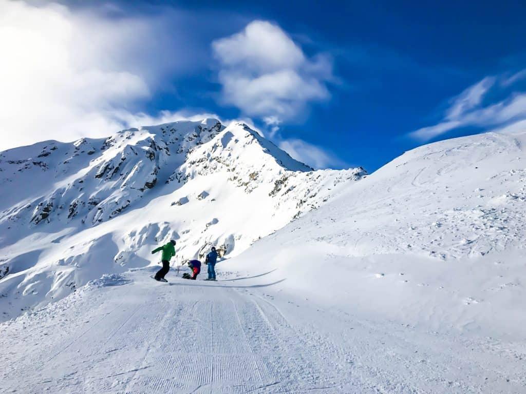 Skiing in Bansko
