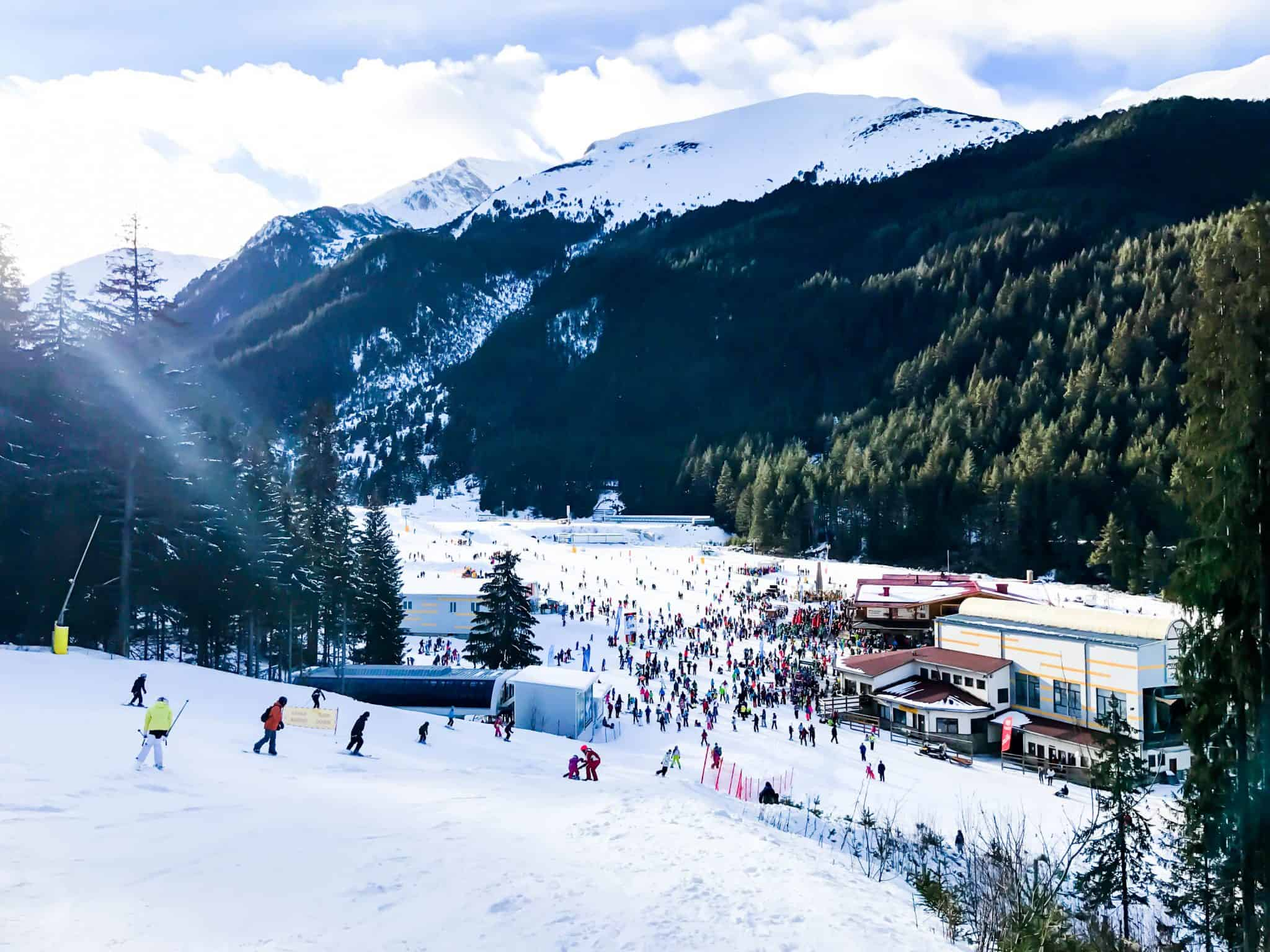 snowboarding holiday in Bansko