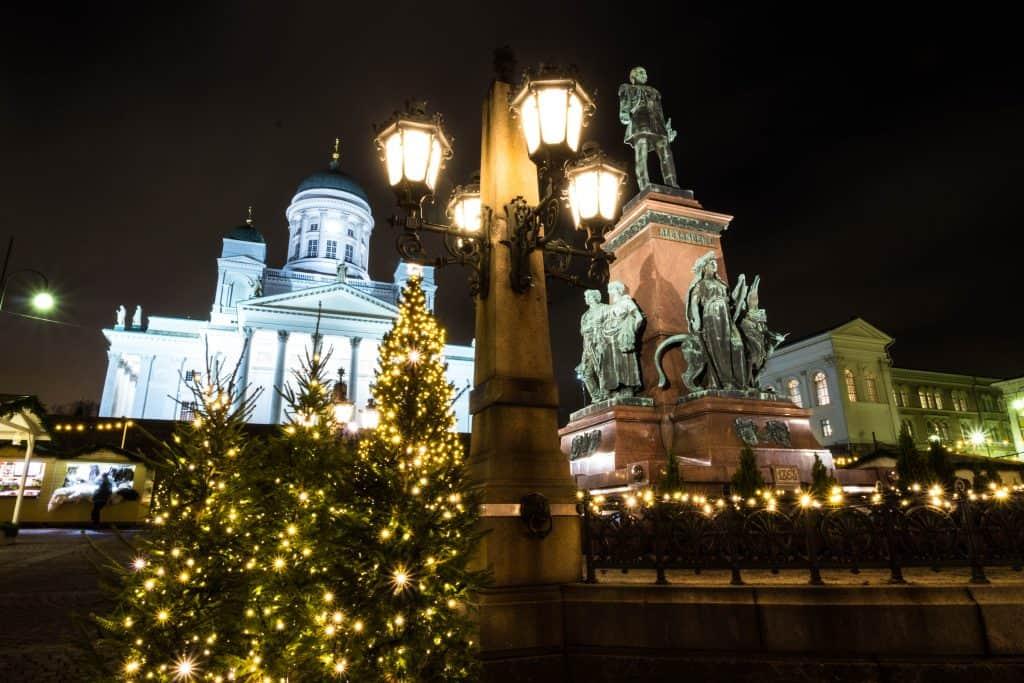Senate Square Christmas What To do Helsinki