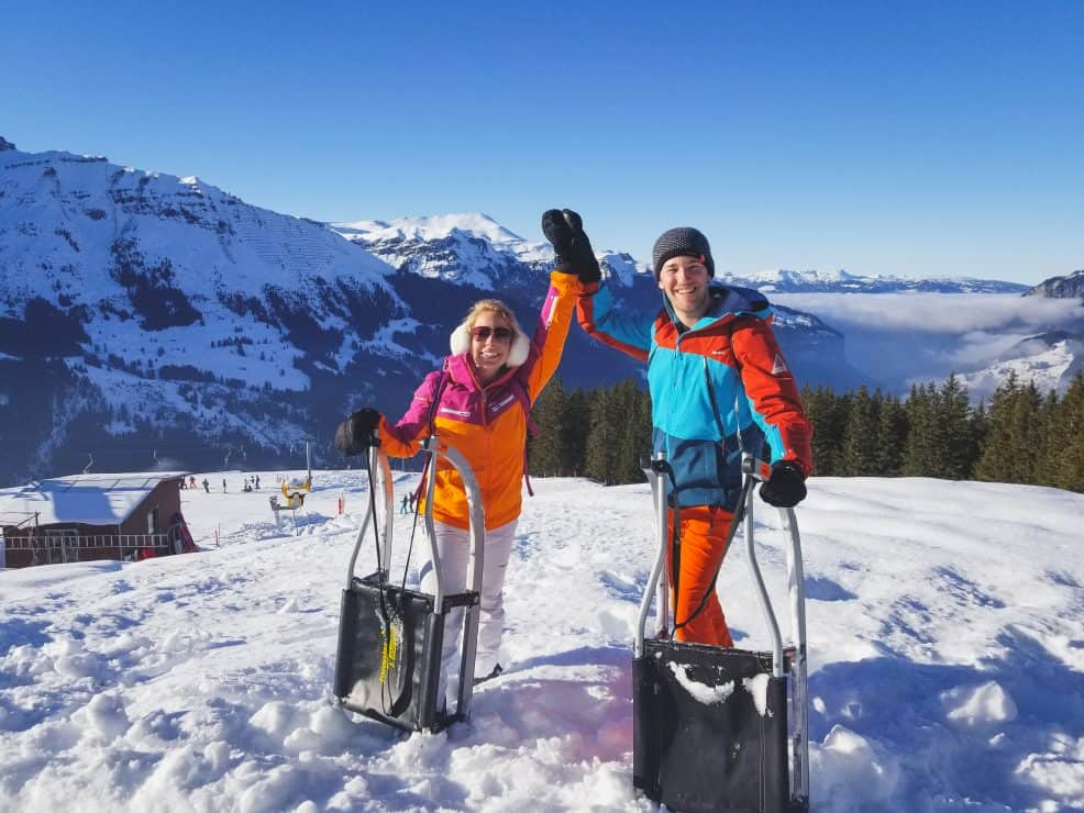 Grindelwald Sledge Run